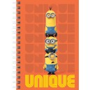 LICENSED A5 WIRO NOTEBOOK