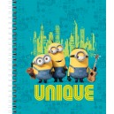 LICENSED LARGE WIRO NOTEBOOK